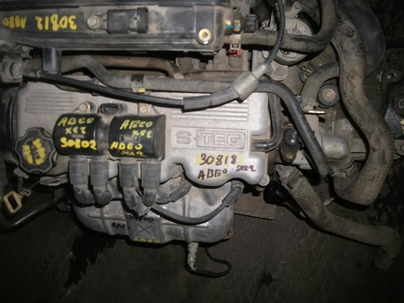 Авео где находится номер двигателя